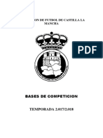 Bases de Competicion Juvenil Territorial Temporada 2017 - 2018