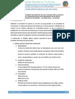 Informe de Modelamiento Hidraulico Crp Añaycancha