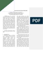 Pengaruh Karbon Aktif dari Ampas Kopi untuk Adsorpsi Metilen Biru