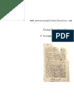 Evangelhos Apócrifos - O Testamento de Abraão