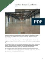 Bahan & Harga Floor Hardener Murah Meriah—☎ 0821 1372 4737