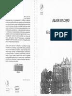 BADIOU_Filosofia Del Presente (Texto Completo)