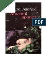 Isabel Allende - Amantul japonez+