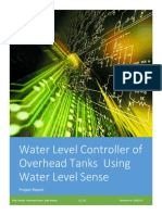 Water Level Controller of Overhead Tanks Using Water Level Sense_Project Report