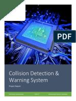 Collision Detection & Warning System Based on AVR Platform