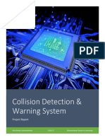 Collision Detection & Warning System Based on AVR Platform