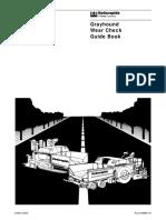 Grayhound Wear Check Guide Book 21085