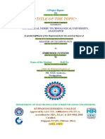 Final M. Tech Certifiate Format