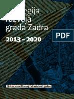 Strategija Razvoja Grada Zadra 2013. - 2020.