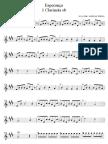 1 Clarineta - Esperanca