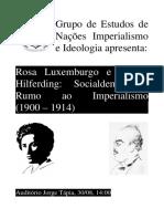 A Socialdemocracia Rumo Ao Imperialismo (1)