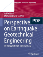 Atilla Ansal, Mohamed Sakr Eds. Perspectives on Earthquake Geotechnical Engineering in Honour of Prof. Kenji Ishihara