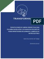 Transforma - Perspectivas mercado de carbón Colombia