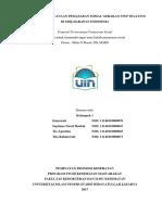 Revisi Proposal Pemasaran Sosial Kelompok 1