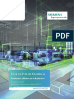 Siemens Lista de Precios Noviembre 1 _2017
