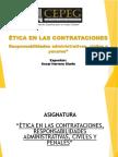 Etica en Las Contrataciones