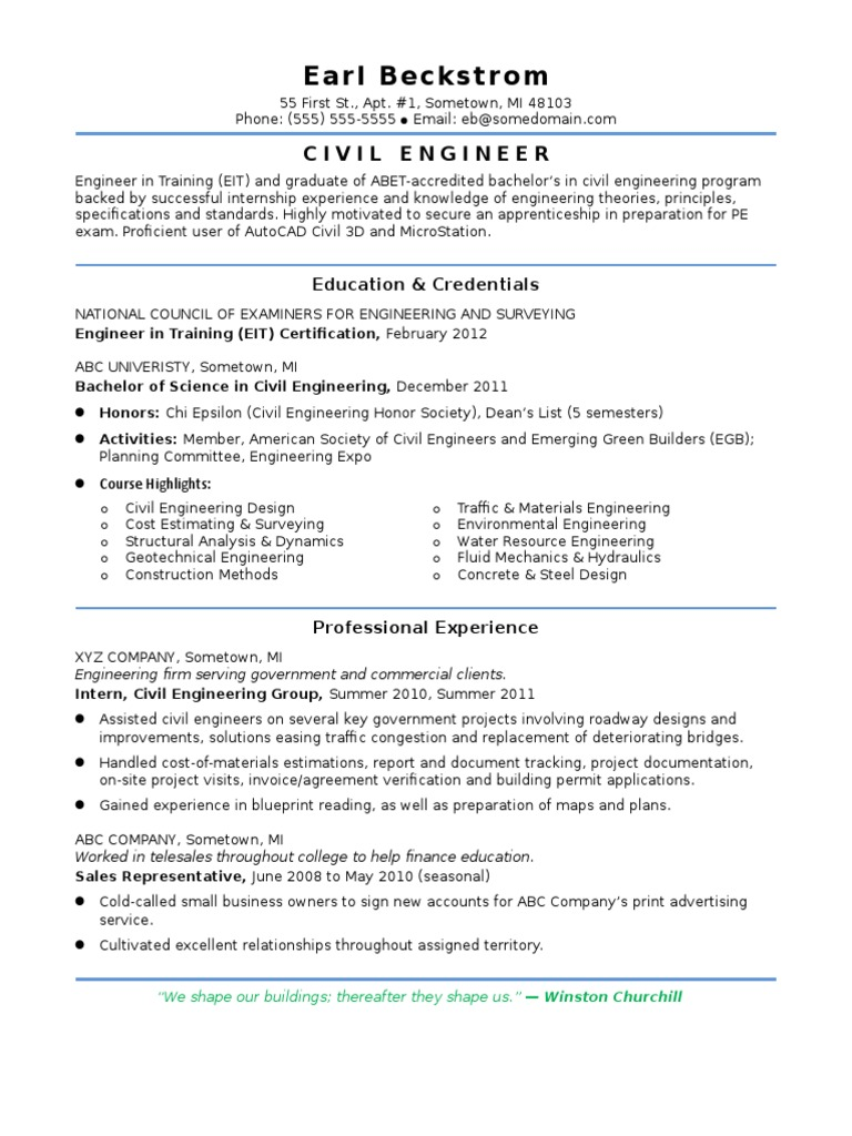 Doc Sample 1 [Iamcivilengineer] | Civil Engineering