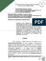 Acordão e sentença reintegtração de posse sr° Frncisco