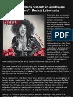 """Kenny y Los Eléctricos presenta en Guadalajara """"Sex y Rock & Love"""" - Revista Latinomania"""