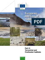 Terrestrial EU Red List Report