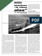 Submarinos clase balao en Iberoamérica