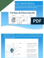 La Electrostática