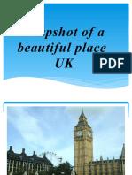 Snapshot of a Beautiful Place UK
