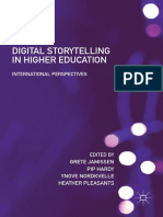 (Digital Education and Learning) Grete Jamissen, Pip Hardy, Yngve Nordkvelle, Heather Pleasants (Eds.)-Digital Storytelling in Higher Education_ International Perspectives-Palgrave Macmilla