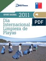 Reporte Limpieza Playas 2011 Chile