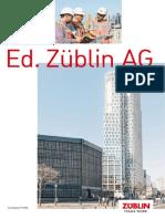 Zueblin Imagebrosch 2017 ENG ES STRAnet