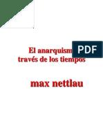 El Anarquismo a través de los tiempos - Max Nettlau