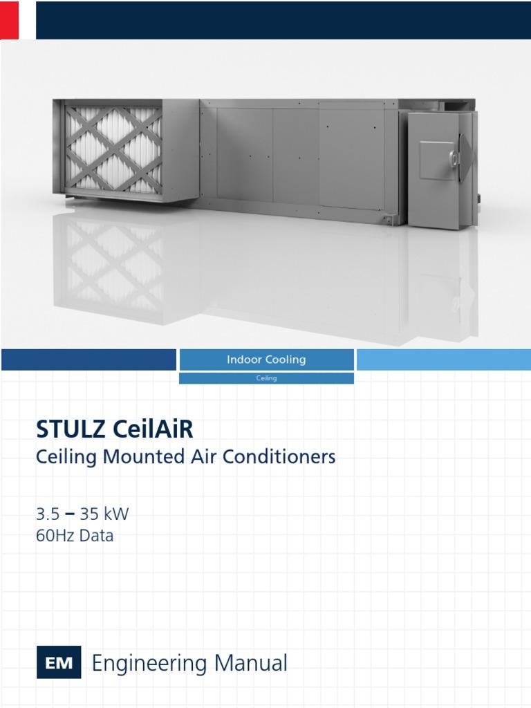 stulz ceilair engineering manual 60hz qe ohs0023a air conditioning rh scribd com stulz crac unit wiring diagram stulz comptrol 1002 wiring diagram
