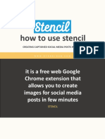 How to Use Stencil - Ryan Elnar - Your Tech Savvy Marketer