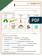 Worksheets Christmas 2