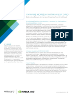 Vmware Nvidia Grid Vgpu Solution Brief