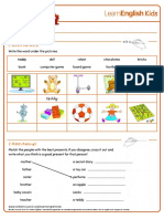 Worksheets Presents