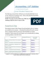 Hoyle13e Additional Student Resources