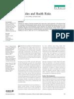 2009 Pesticides and Health Risks