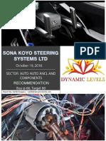 Sona Koyo Details