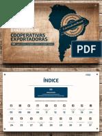 Cartela Brasileira Coop - Exportação 2017