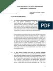 Los Actos Anulables y Los Actos Rescindibles Semejanzas y Diferencias