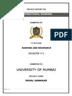 Blackbook Project on International Banking _16340