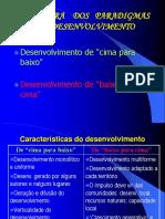 5PARADIGMAS  DESENVOLVIMENTO
