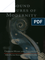 Sound Figures of Modernity German Music and Philosophy