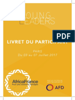 Livret Young Leaders Africa France