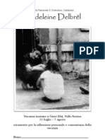 Madeline Delbrel (libretto vacanza 2010)