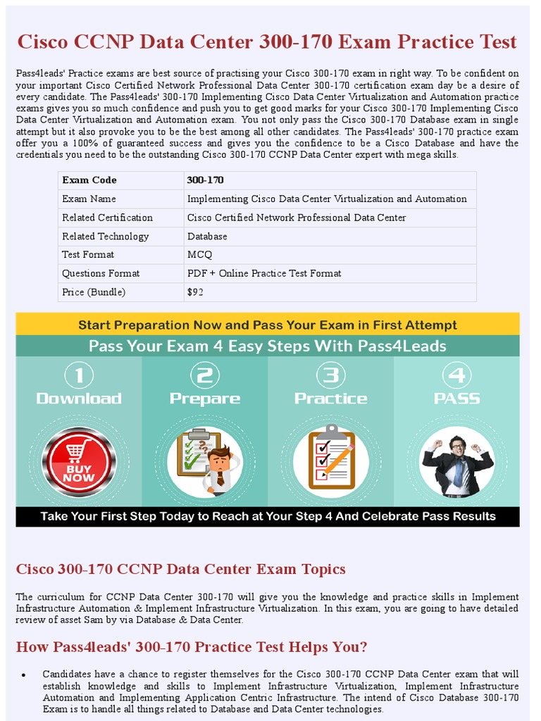 Cisco 300 170 Exam Questions Data Center Certification