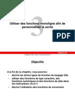 03 - Utiliser Des Fonctions Monoligne Afin de Personnaliser La Sortie