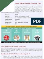 Wireless 300-375 Exam Practice Test - Online Version