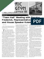 Historic Irvington Newsletter - 2017 Winter